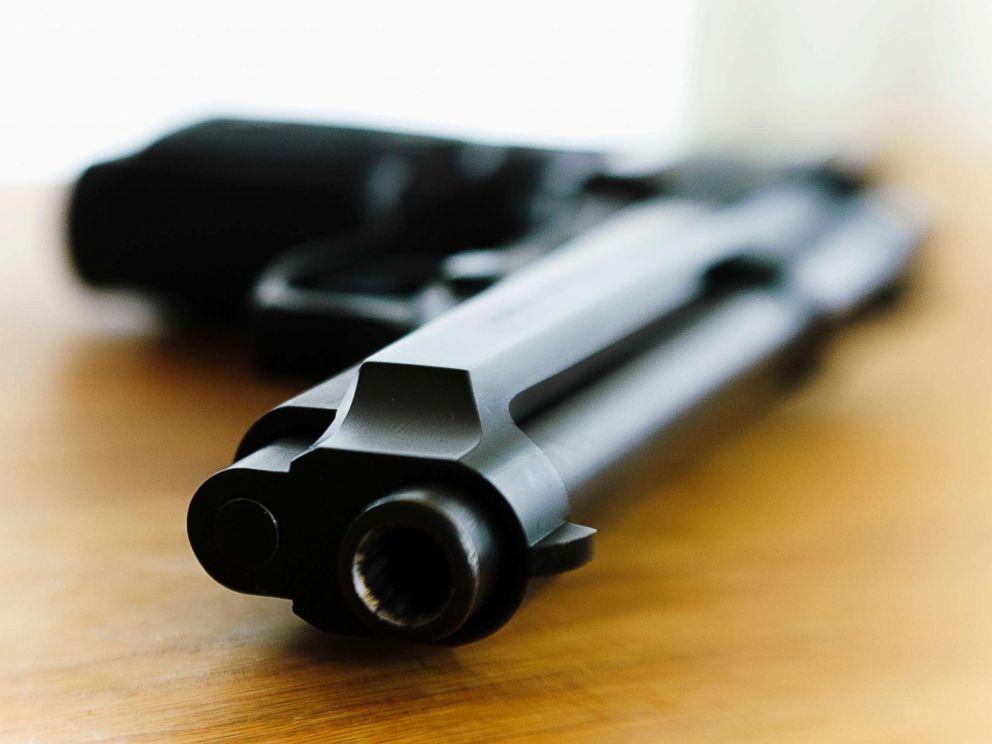 PHOTO: Stock photo of a handgun.