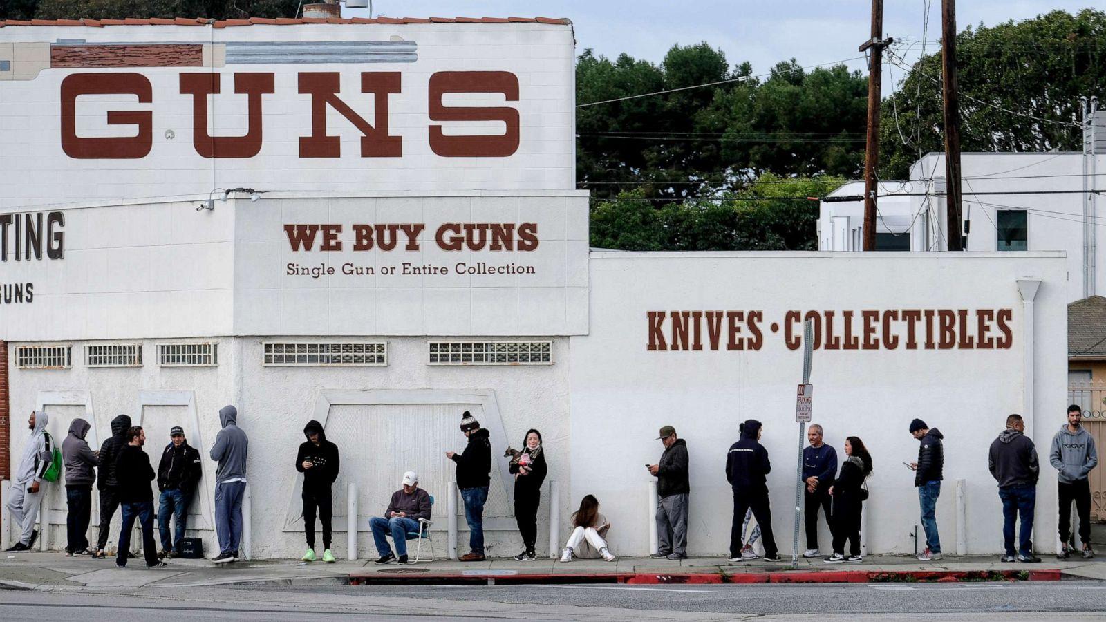 Image result for panic buying of guns corona