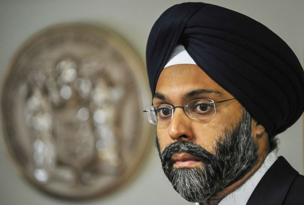 Radio show hosts suspended after calling Sikh-American attorney general 'turban man'