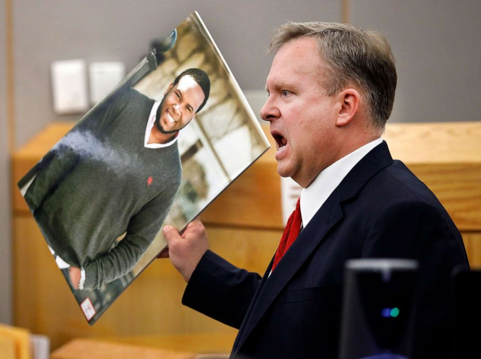 Judge, Victim's Brother Hug Ex-Dallas Cop Convicted of Murder