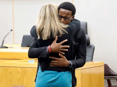 Botham Jean's brother discusses his emotional courtroom hug with Amber Guyger