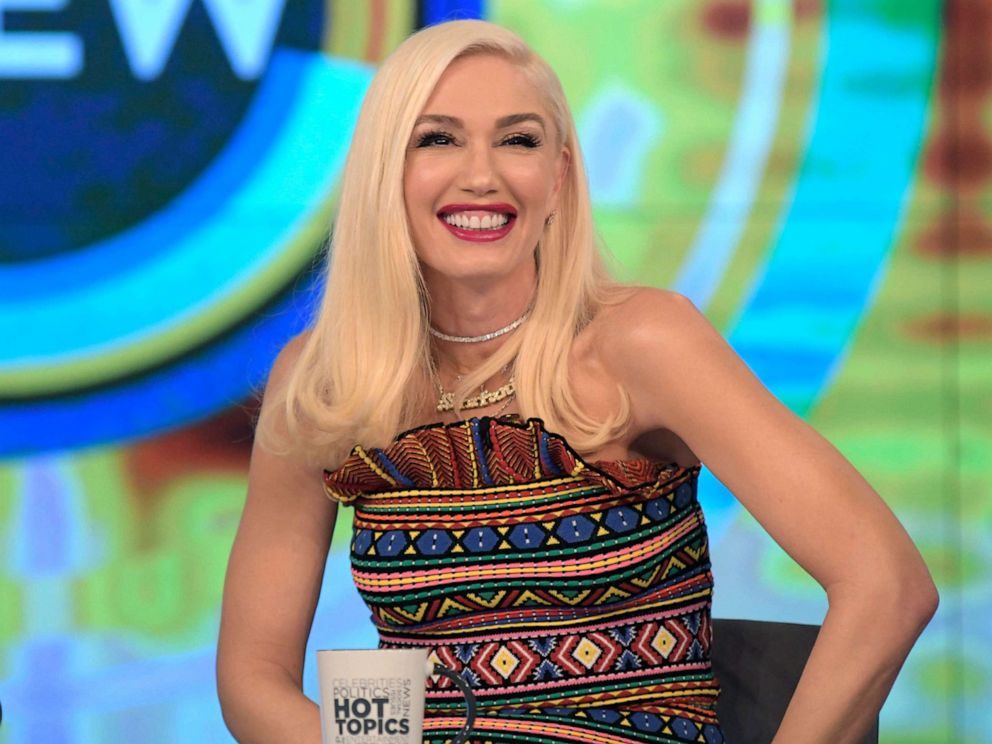 PHOTO: Gwen Stefani guests on ABCs The View Tuesday, Sept. 24, 2019.