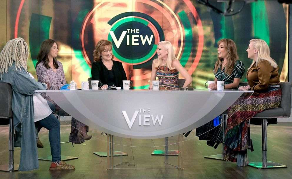PHOTO: Gwen Stefani guest stars on ABCs The View Tuesday, Sept. 24, 2019.