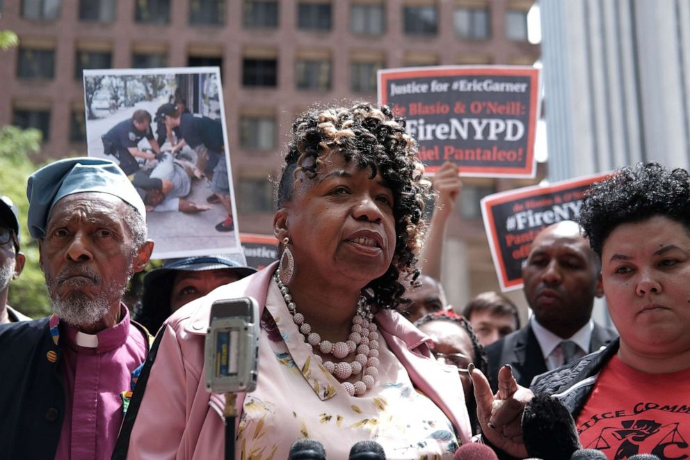 Eric Garner: NY officer in 'I can't breathe' death fired