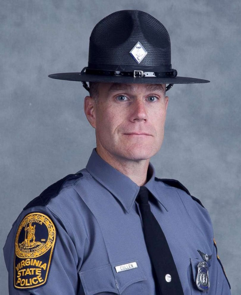 PHOTO: Virginia State Police officer H. Jay Cullen seen in this image released by Virginia State police, Aug. 12, 2017.
