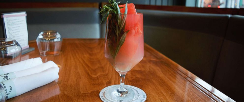 """PHOTO: Beverage director Bryan Shneider from New York Citys Quality Eats shared this recipe for a spicy-sweet mocktail featuring his original Habanero ice cubes with """"GMA."""""""