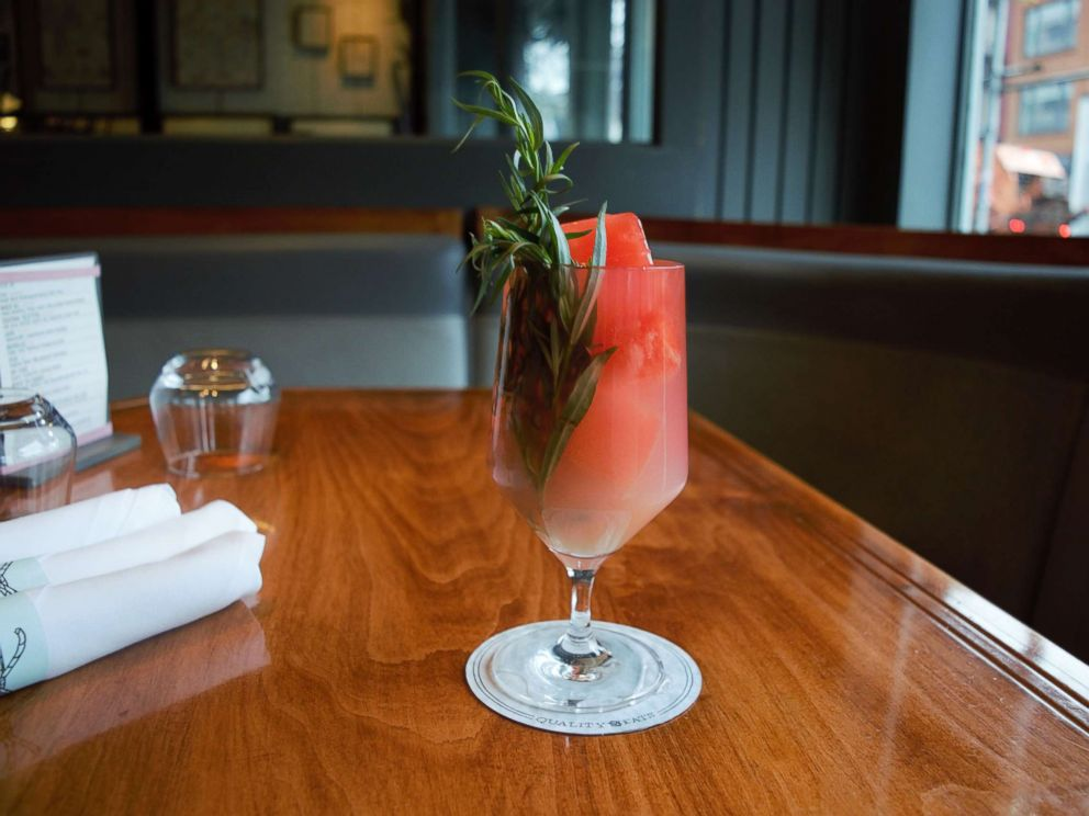 PHOTO: Beverage director Bryan Shneider from New York Citys Quality Eats shared this recipe for a spicy-sweet mocktail featuring his original Habanero ice cubes with GMA.