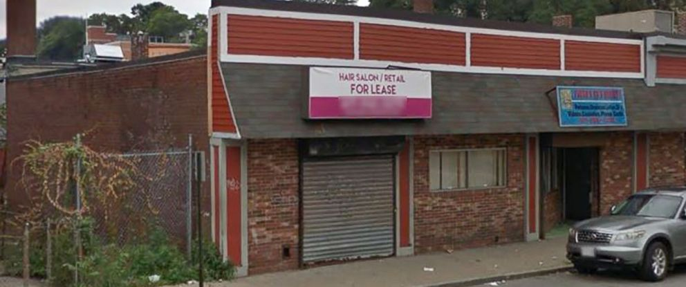 PHOTO: The location of the former barbershop, Hair It Is, in Mattapan, Mass., in a 2017, image from Google maps.
