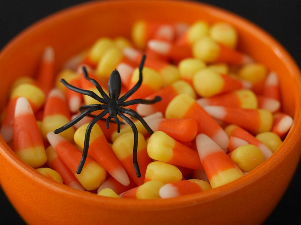 PHOTO: Halloween candy is pictured in this undated stock photo.