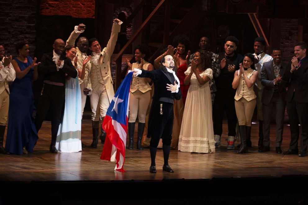 Lin-Manuel Miranda brought to tears as 'Hamilton' premieres in Puerto Rico
