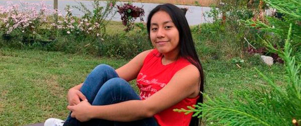 PHOTO: This Sunday, Nov. 4, 2018, photo provided by FBI shows Hania Noelia Aguilar, the day before she went missing in Lumberton, N.C.