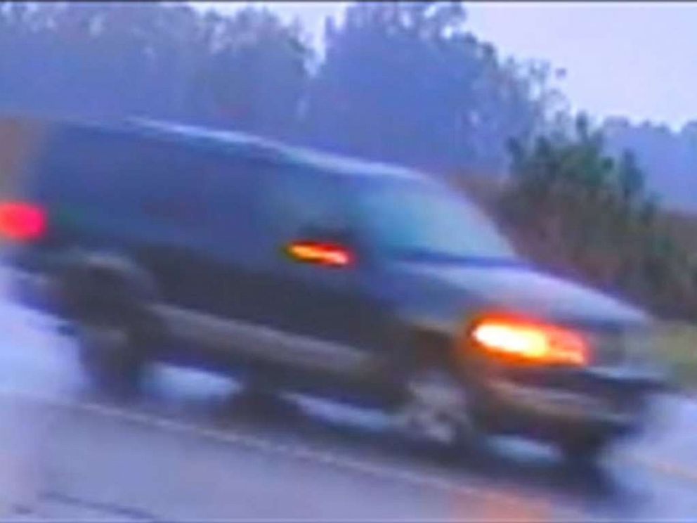 PHOTO: Investigators have released images of the stolen SUV captured in the minutes after Hania Aguilar was kidnapped from her home.