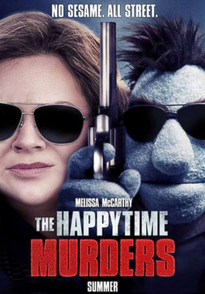 Image result for happytime murders poster