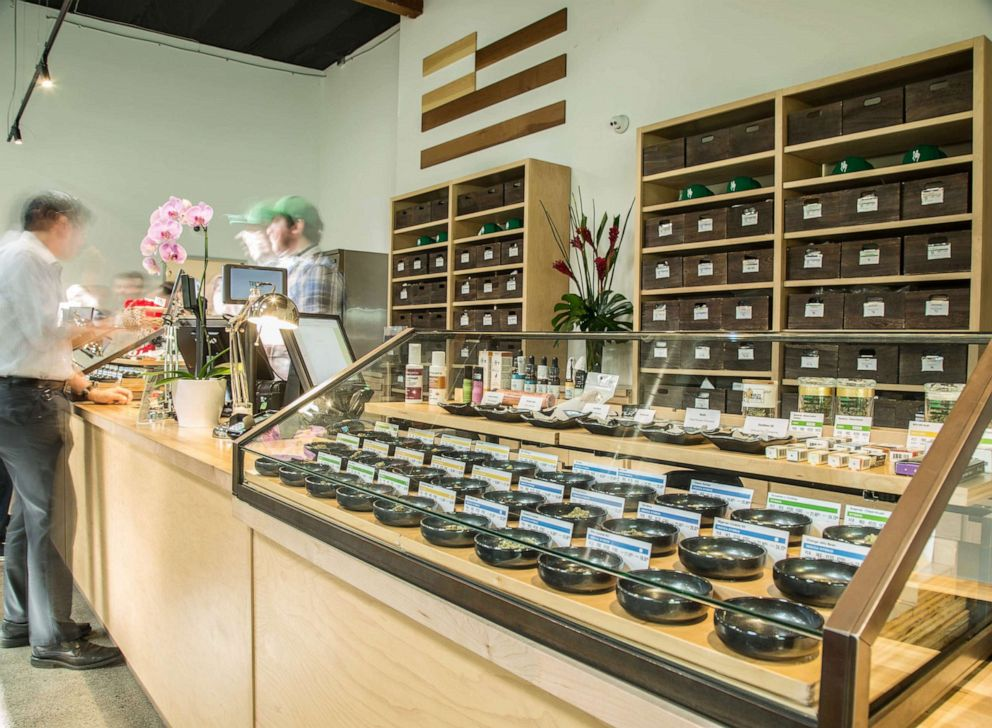 PHOTO: One of Harborside Health's recreational cannabis dispensaries in Oakland, Calif.