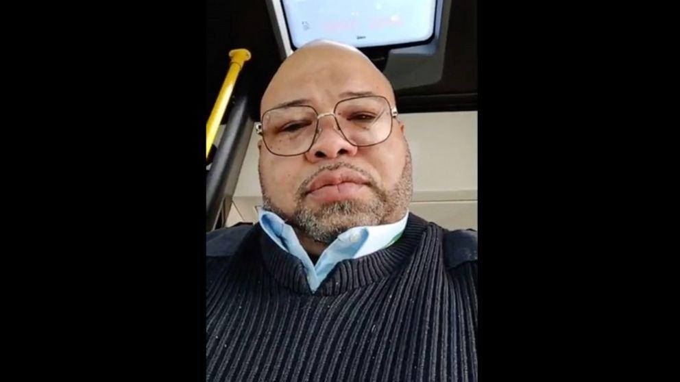 Detroit-bus-Treiber, wer beschwert sich über ein Passagier-Husten gestorben