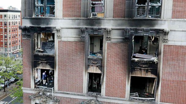 6 dead, including 4 children, in New York City blaze