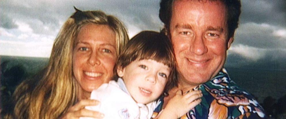 PHOTO: Phil and Brynn Hartman with their son Sean.