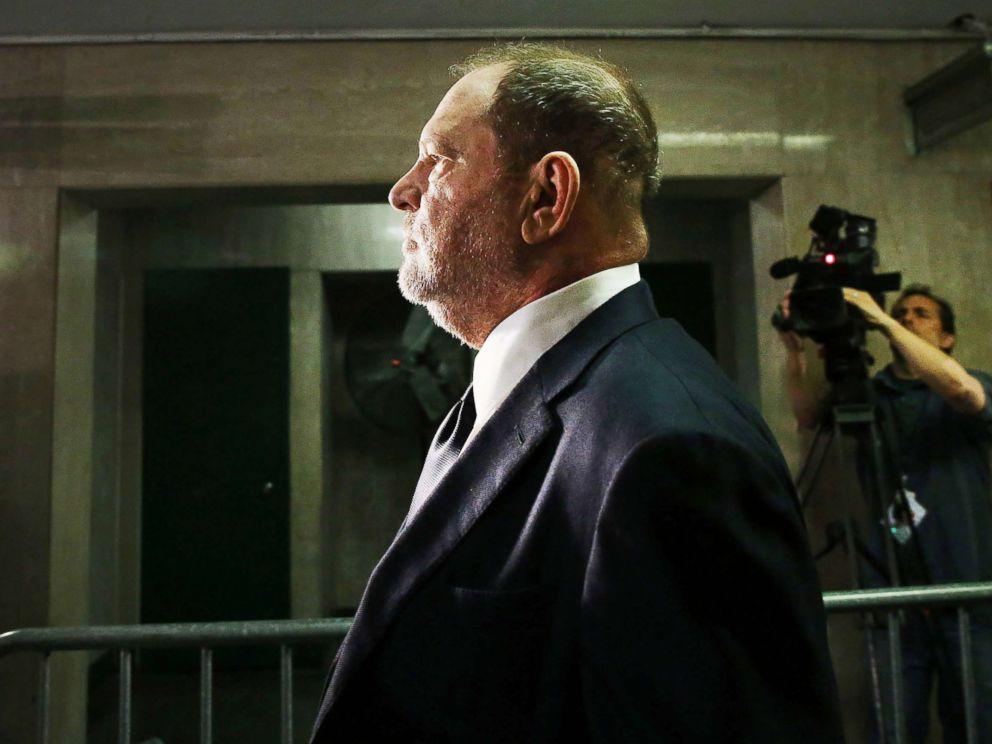 PHOTO: Harvey Weinstein arrives to plead not guilty to three felony counts in New York Supreme Court, June 5, 2018, in New York City.