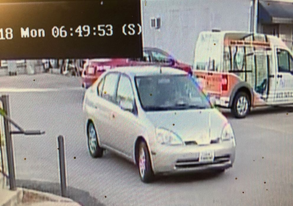 PHOTO: Metro Nashville police released this image of an older model Toyota Yaris that they say was driven by Domenic Micheli on June 4, 2018.