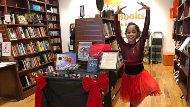 Famous Dancer Surprises 7 Year Old Ballerina Who Donated Books Gma
