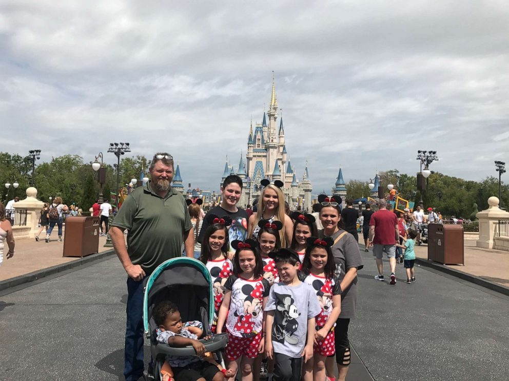 PHOTO: The Hawthorn family on vacation to Disney World.