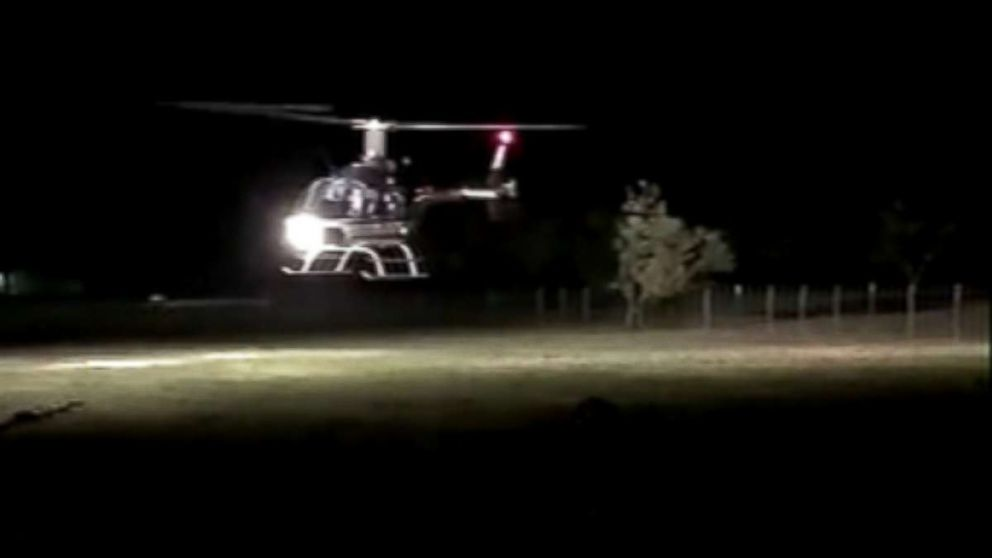 A couple who were just married were killed, Nov. 3, 2018, when their helicopter went down in Uvalde, Texas.
