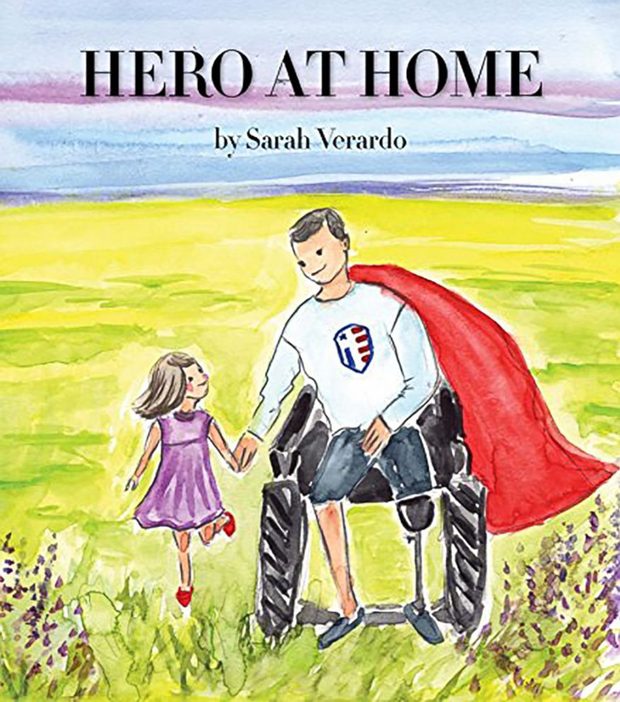 PHOTO: Independence Fund Director Sarah Verardo is out with a new book Hero At Home which seeks to teach children about injuries sustained by veterans.