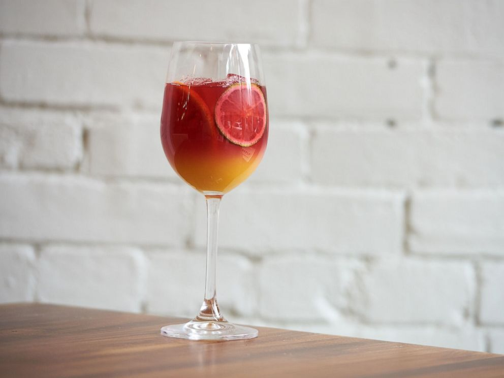 PHOTO: Randy Wright from the restaurant Acorn in Pittsburgh, Penn., shared this recipe for his alcohol-free Mind Your Hibiscus cocktail with Good Morning America.