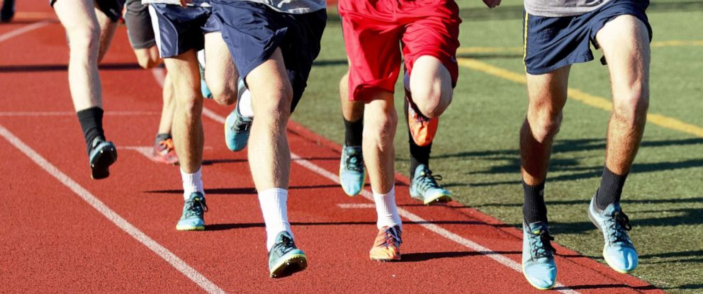 PHOTO: Students are seen running in this undated stock image.