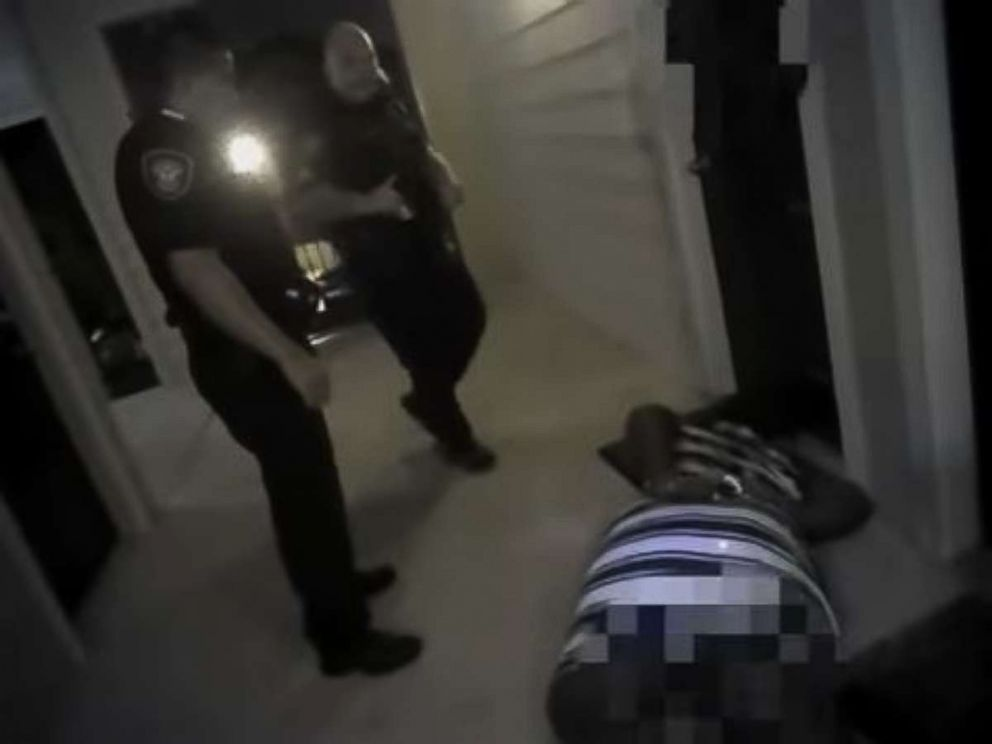 Fort Worth police officers are seen standing over a woman who they tased, leading to one officers dismissal.