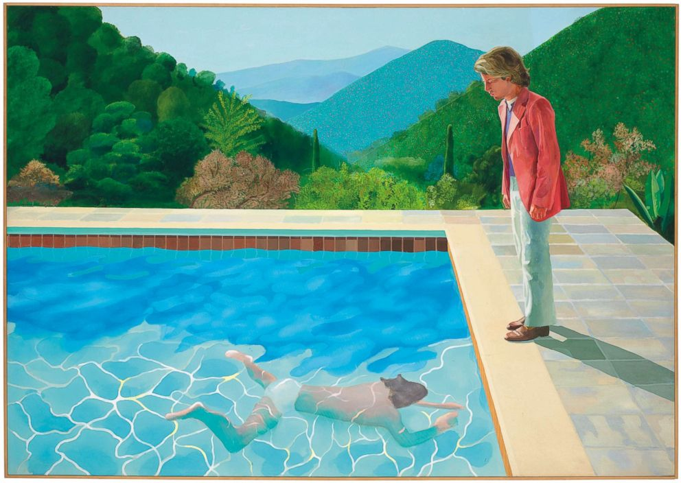 PHOTO: David Hockneys Portrait of an Artist (Pool with Two Figures).