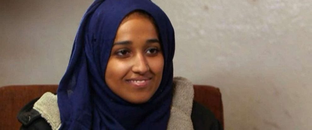 PHOTO: Hoda Muthana, 24, spoke to ABC News for her first television interview. Muthana, an Alabama woman, traveled to Syria in 2014 and became an ISIS bride. She now wants to return to the U.S.