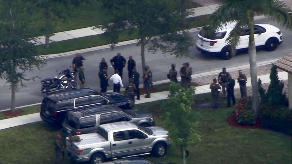 PHOTO: A hoax call to police was reported at the Florida home of Parkland activist David Hogg.