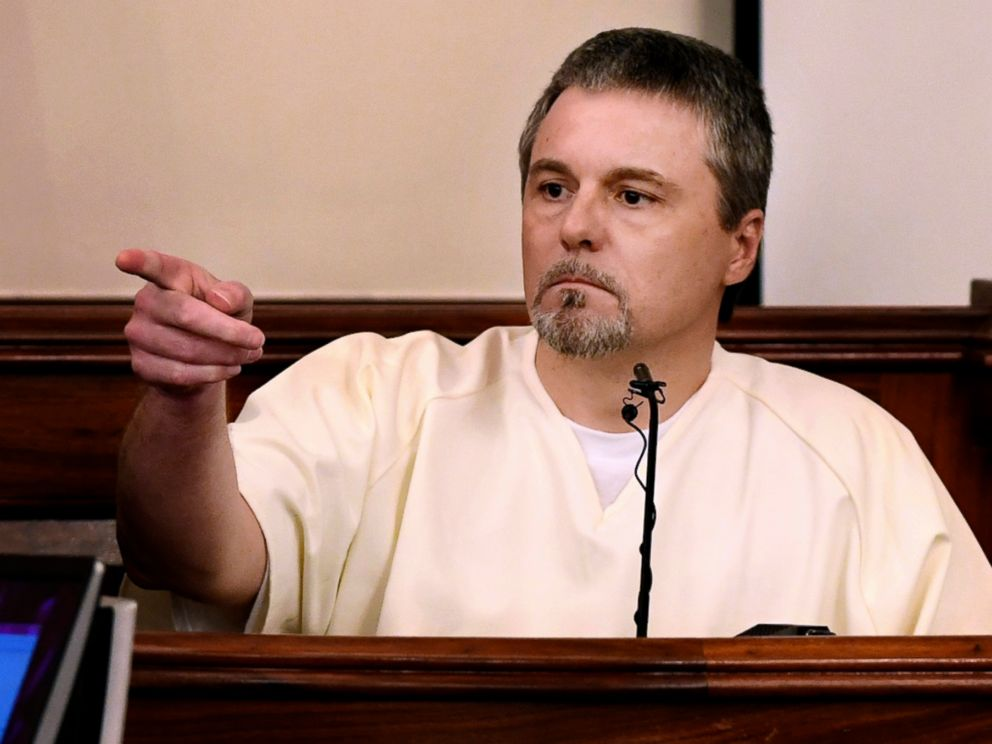 PHOTO: Jason Autry identifies Zachery Adams during his testimony on day four of the Holly Bobo murder trial, Sept. 14, 2017, in Savannah, Tenn.