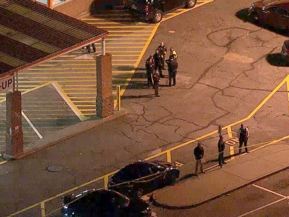 PHOTO: WABC chopper footage showed a scene of police activity at a Home Depot in Passaic, New Jersey, where Saipov is believed to have rented the truck used in the attack.