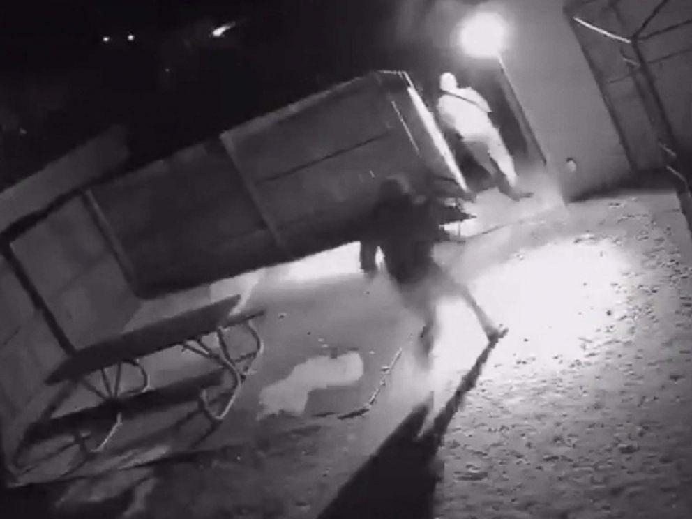 PHOTO: Surveillance video captures a brazen home invasion in Milwaukee.