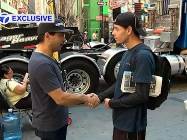 Homeless man who was given shoes by a jogger in viral photo now has a job offer