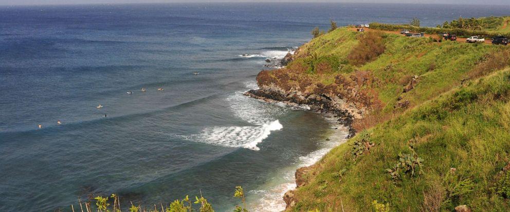 Widow on Hawaiian vacation to heal from losing husband falls