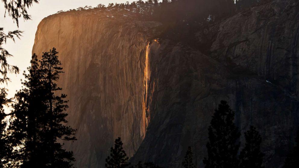 Yosemite είναι μαγευτική 'firefall