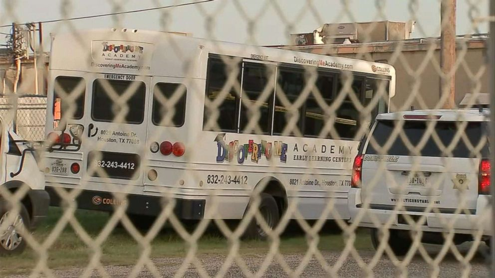 A 3-year-old boy left unattended in a blistering-hot daycare bus for at least three-and-a-half hours has died in Houston.