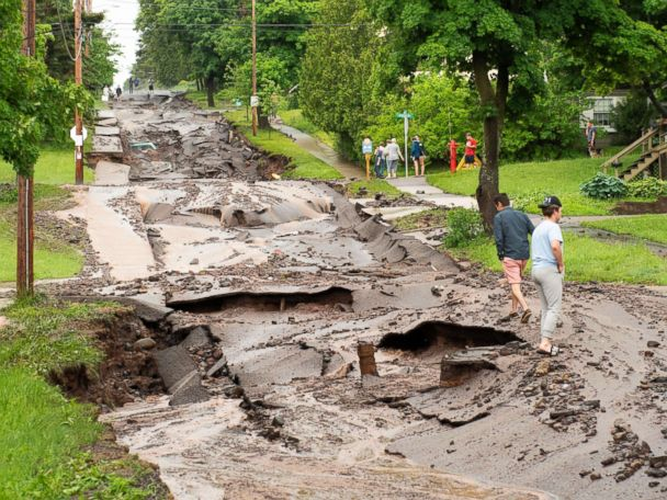 12-year-old boy dies after flooding causes basement to collapse: Sheriff