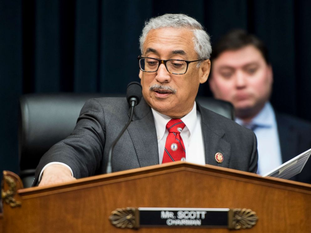 PHOTO: Chairman Bobby Scott, D-Va., chairs the House Education and Labor Committee hearing on The Cost of College: Student Centered Reforms to Bring Higher Education Within Reach,March 13, 2019.