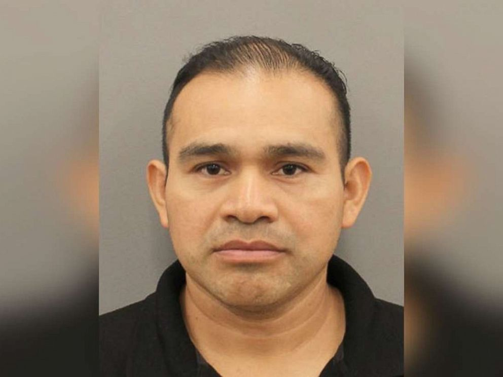 PHOTO: Tomas Mejia, 42, has been charged with negligent homicide after his 12-year-old daughter crashed a car into a neighbor and killed him in Houston on Thursday, Aug. 15, 2019.