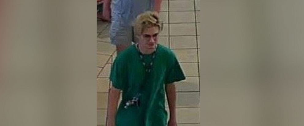 PHOTO: In this image posted to the Twitter account of the Houston Police, the person wanted for questioning in the incident at Memorial City Mall is shown.