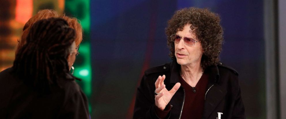 """PHOTO: Howard Stern appeared on ABCs """"The View,"""" May 15, 2019."""