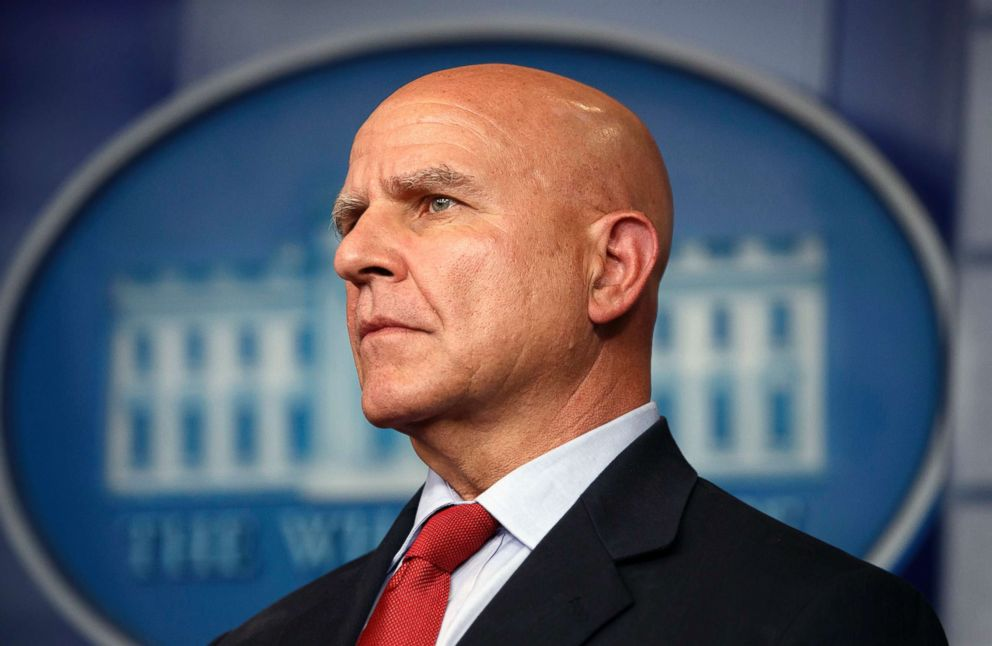 PHOTO: H.R. McMaster listens during the daily press briefing at the White House in Washington, July 31, 2017.