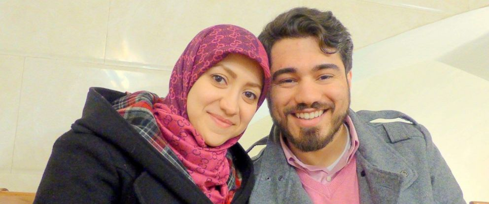 PHOTO: Iranian-American, Mohammad Mesbahi, says his wife, Iranian Homa Esfandiari, was nearing the final stages of approval to come to U.S. just as the executive order temporarily suspending immigration from seven Muslim-majority nations was signed.