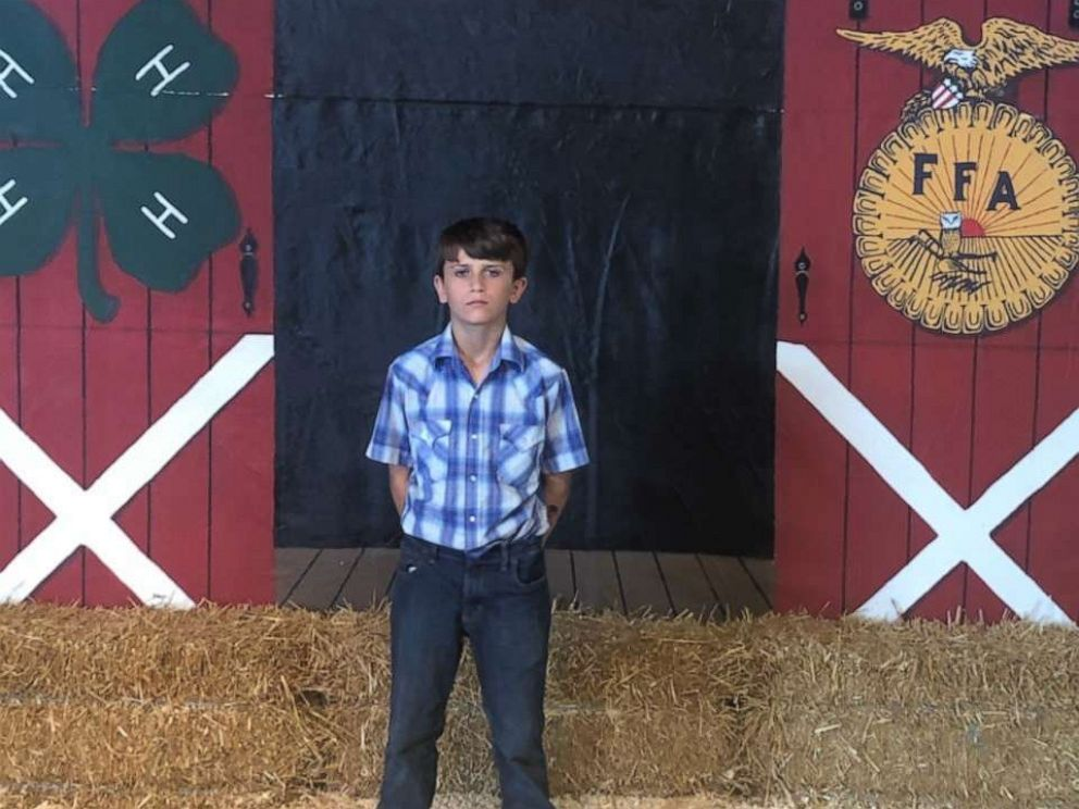 PHOTO: A boy from Ohio donated his livestock premiums from the Huron County Fair to St. Jude Children's Research Hospital.