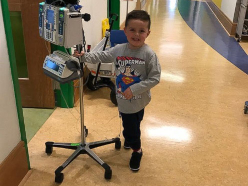 PHOTO: Jimmy Spagnolo has undergone treatment for a glioma or tumor of the brain or spine since he was 4 months old. Hes now 6 and a first grader in Pittsburgh.