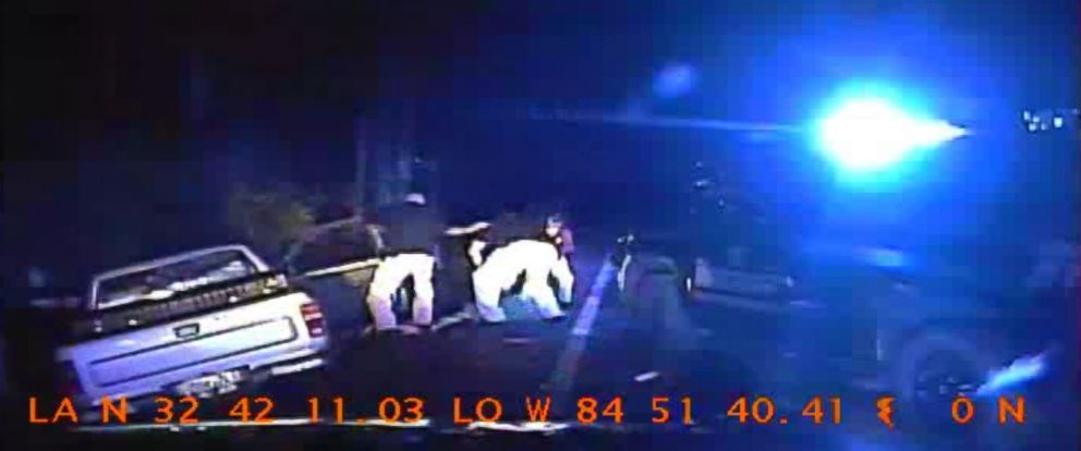 PHOTO: Dashcam videos shows the moment police pulled 18-year-old Nicholas  Dyksma